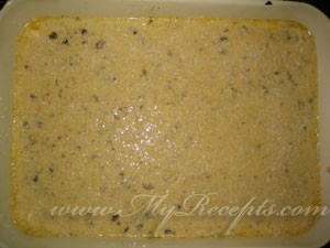 Пирог с орехами и изюмом шаг5